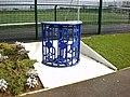 Bolton Wanderers Eddie Davies Football Academy, Turnstile - geograph.org.uk - 1221225.jpg
