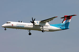 Luxair - Luxair Bombardier Dash 8 Q400