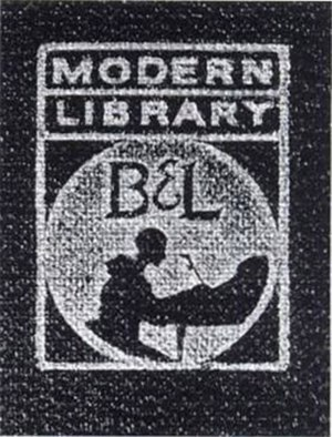 Boni & Liveright - Second colophon used between 1924 and 1925.