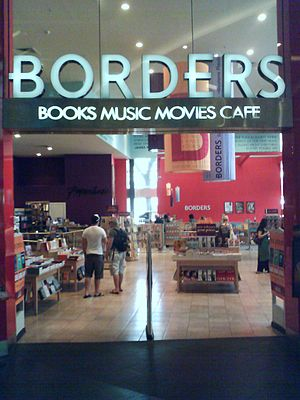 Borders (Asia Pacific) - Borders store in Sydney suburb Bondi Junction on Level 4 of Westfield Bondi Junction, now closed.