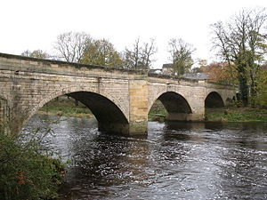 Boston Spa - Image: Boston Spa bridge in 2007