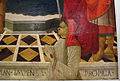 Bottega del ghirlandaio, madonna col bambino, santi e il donatore roberto folchi, 1490-1510 ca. 04.JPG
