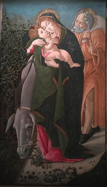 File:BotticelliFlightIntoEgypt.jpg