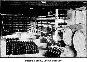 Charles Louisson - Bottling Store, Crown Brewery