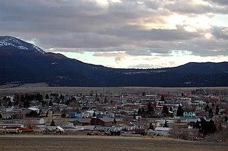 Boulder, Montana - Boulder as seen from near Interstate 15