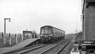 Bow Brickhill railway station - Bow Brickhill in 1962