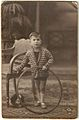 Boy with Hoop, Barcelona, early 1900s (7315547148).jpg