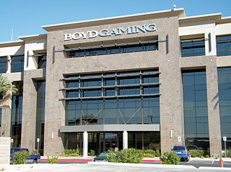 Boyd Gaming - Boyd Gaming's current headquarters in unincorporated Spring Valley, a Las Vegas suburb