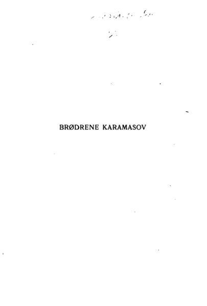 File:Brødrene Karamsov.djvu