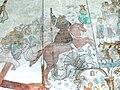 Brøns kirke - Wandmalerei - St.Georg mit Drachen 1.jpg