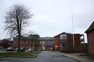 Brædstrup - Brædstrup Hospital Build 1892-93 and expanded several times.