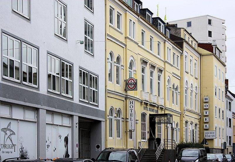 "File Bremen the hotel ""Bremer Haus"" JPG Wikimedia mons"