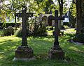 Brilon, Alter Friedhof, Grabkreuze Lohmann.JPG