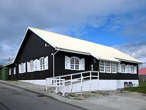 Falkland Islands Museum and National Trust - Britannia House, the former location of the museum