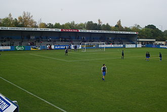 Nuneaton Borough F.C. - Liberty Way, Nuneaton