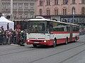 Brno, 140 let MHD (13), náměstí Svobody, Karosa B 961.jpg