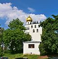 Brno chrám sv. Václava zvonice 3.jpg