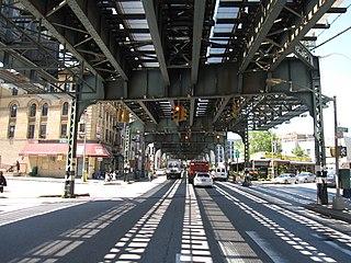 Broadway (Brooklyn) Avenue in Brooklyn, New York