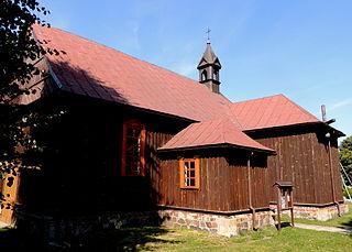 Brodnia Village in Łódź Voivodeship, Poland