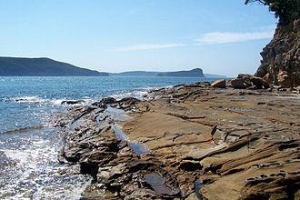 Broken Bay - Image: Broken Bay with Lion Island