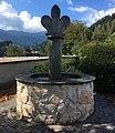Brunnen bei der Kath. Kirche hl. Nikolaus in Afritz am See, Kärnten.jpg