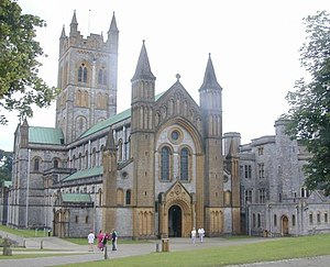 English: Buckfast Abbey. Buckfast Abbey, Buckf...