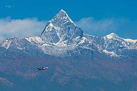 Budhha Air flight with Mt. Machhapuchchhre in the backdrop.jpg