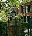 Buitenplaats Arcadia, hekpijler - Schouwweg 87, Wassenaar.JPG