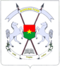 Armoiries du Burkina Faso