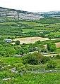 Burren farms with limestone ridge beyond - geograph.org.uk - 857661.jpg