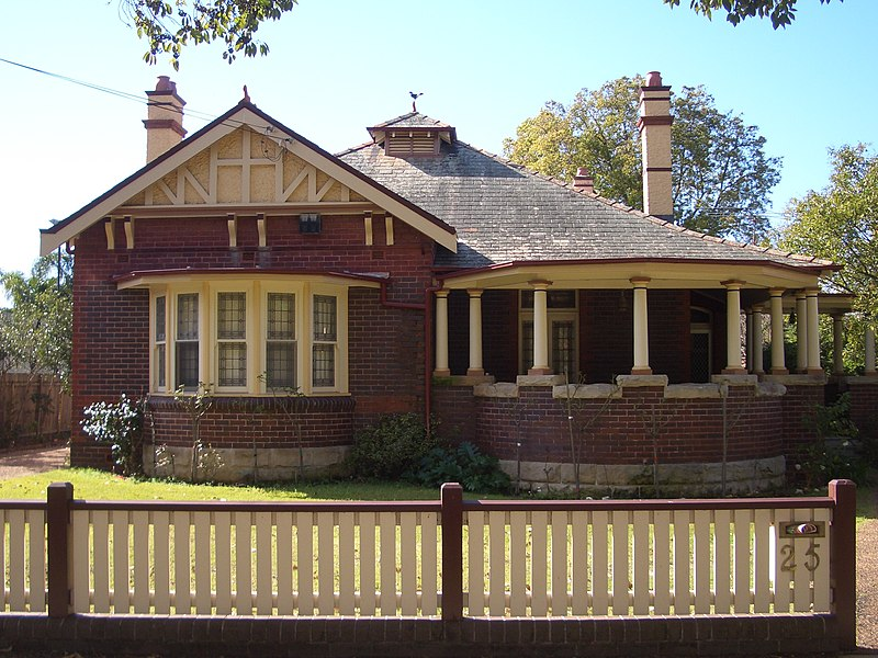 Home, Appian Way, Burwood, New South Wales