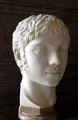 Elagabalus - Head of Elagabalus,  from the Capitoline Museums