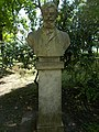 Bust of Mihály Munkácsy by Walter Madarassy, 2017 Margaret Island.jpg