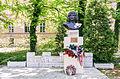 Bust of Miklós Zrínyí at the Miklós Zrínyi Military Academy.jpg