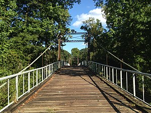 National Register of Historic Places listings in Rankin County, Mississippi - Image: Byram Bridge