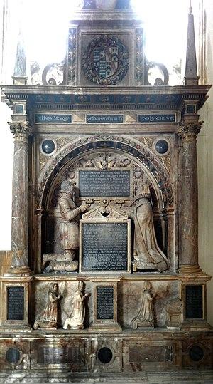 Richard Cecil (courtier) - Image: Cénotaphe de Richard Cecil circa 1553 église Saint Martin Stamford 04