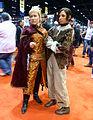 C2E2 2015 - King Joffrey & Arya Stark (17098962537).jpg