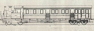 1906 in South Africa - CGR Railmotor