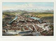 CH-NB - Bern, Vogelschauansicht, von Westen - Collection Gugelmann - GS-GUGE-FICHOT-A-1