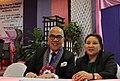 CHED Regional Director, Dr. Cherrie Melanie Diego with Boy Abunda.jpg