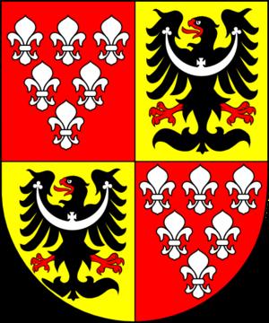 Georg von Kopp - Image: COA cardinal DE Kopp Georg