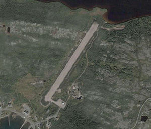 St. Lewis (Fox Harbour) Airport - Image: CYFX