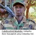 Cabdirashiid Madobe, taliyaha reer Darawiish ama Ciidanka SSC.png