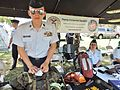Cadets from CAP at recruiting table in Maryland.jpg