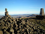 File:Cairn at top of West Lomond Hill.JPG