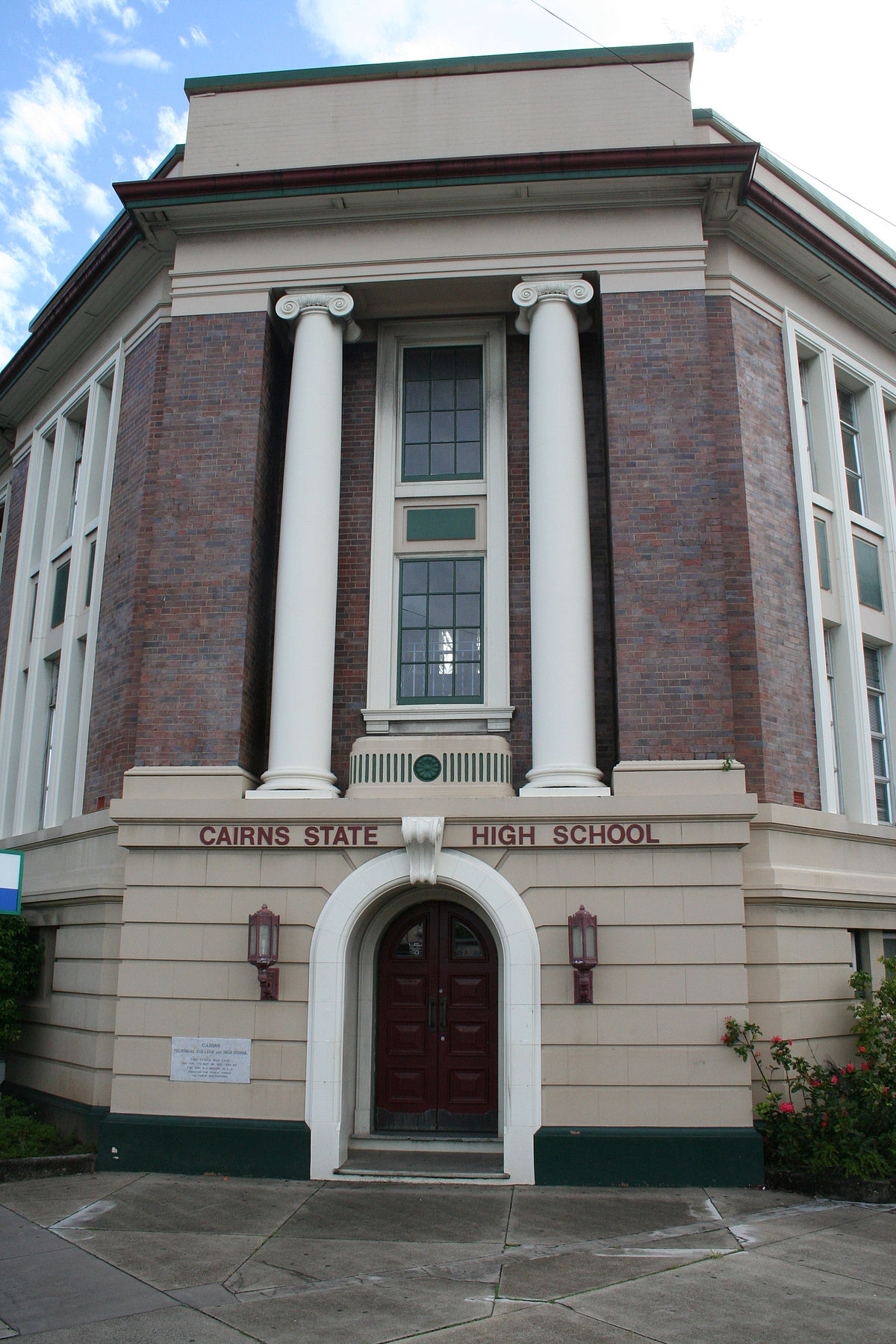 Cairns Technical College And High School Building