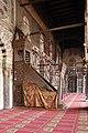 Cairo, moschea di al-muayyad, interno, minbar 01.JPG