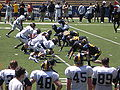 Cal football final spring scrimmage 2009-04-18 6.JPG