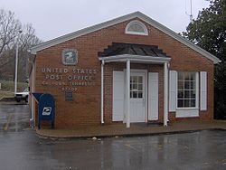 The post office in Calhoun