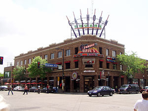 Calhoun Square, the center of the District since the 1980s, sits at the southeast corner of Lake Street and Hennepin Avenue.